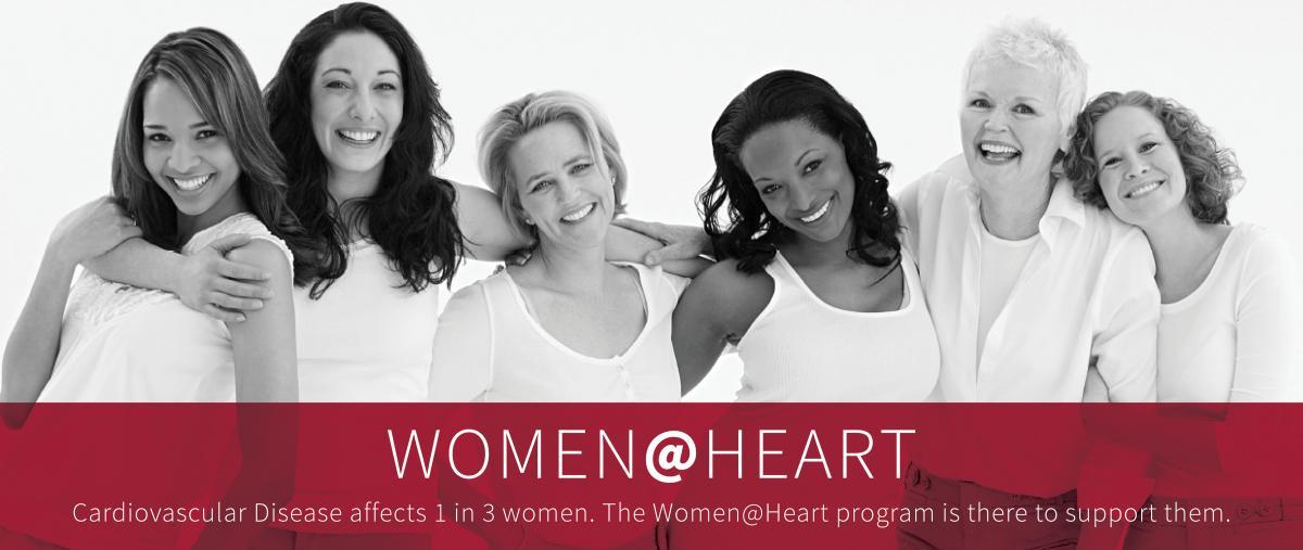 Women@Heart Banner