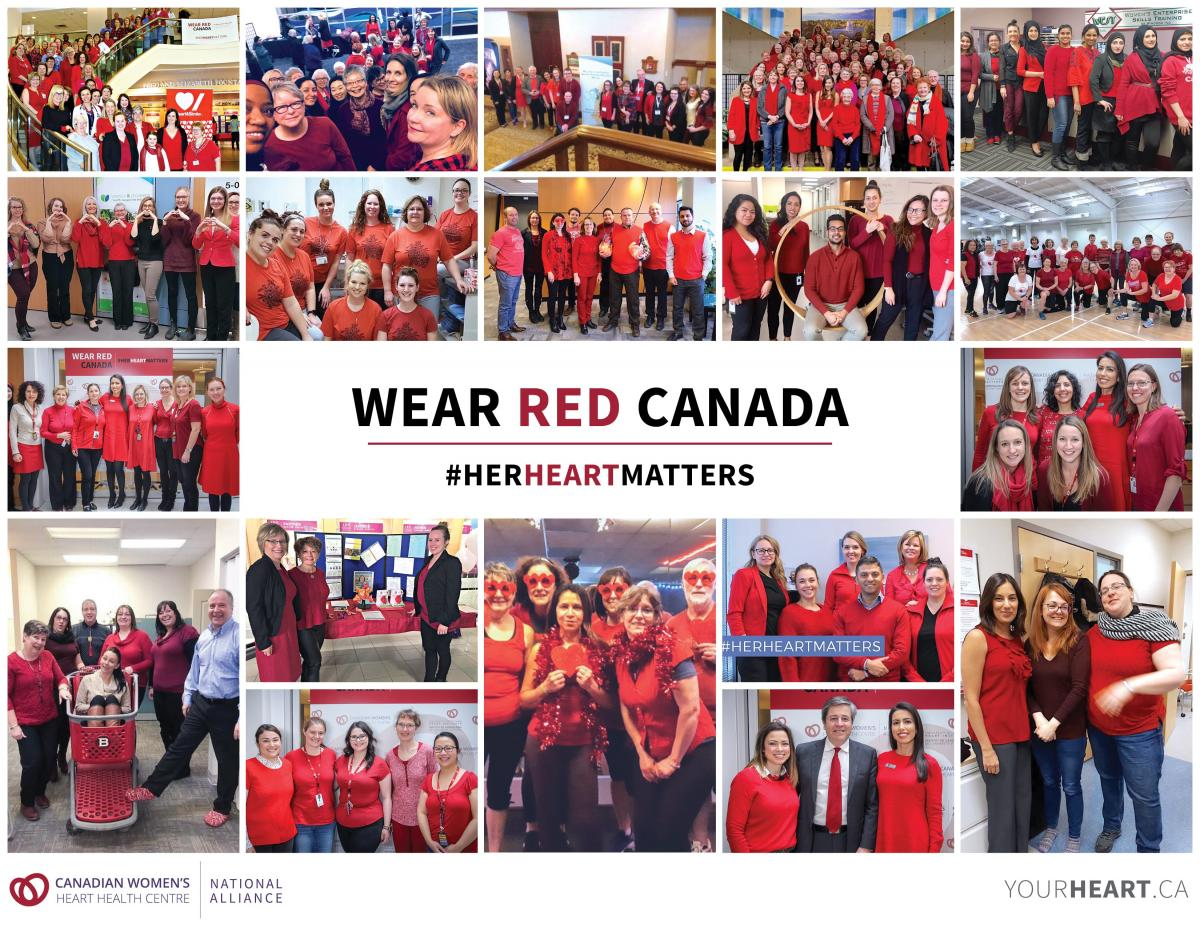 Wear Red Cross-Canada Events Facebook
